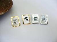 Fashion 316L Stainless Steel Oblong White Shell Stud Earrings for Women