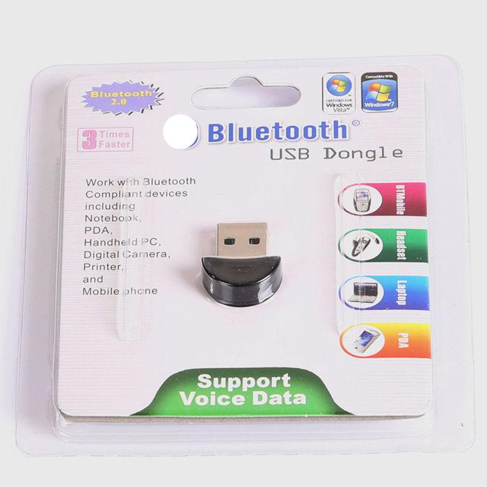Smallest USB 2.0 Mini Wireless Bluetooth V2.0 EDR Dongle Adapter 100m PC Laptop(China (Mainland))