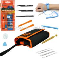1set 70 in 1 Repair Tools Kit Precision Screwdriver Set for iPhone 4 5 Samsung Tweezers Spudger Kit Cell Phone Opening Pry tool