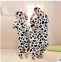 Free Shipping NEW 2014 Couple Pajamas Sets Cotton Summer Home Lounge Clothing animal Tiger leopard Print Women and Men Sleepwear