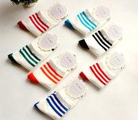 The new autumn cotton socks , candy stripe cotton socks , cotton socks wild