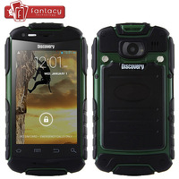 New Arrival Discovery V5+ Waterproof Smartphone 5MP Android 4.2 MTK6572 Dual Core Shockproof Dustproof Rugged Super Outdoor