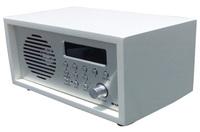 AGK Portable DAB FM RDS Digital Radio-8 stations preset, LCD display with white backlight, 3-inch 10W speaker, clock, Alarm