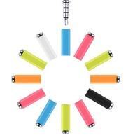 360 Mi Key Mikey Quick Button Dustproof Plug Earphone Jack Plug For XIAOMI Mi2s Hongmi red rice MI3