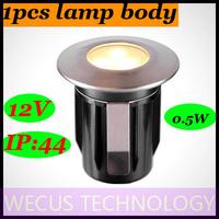 (WECUS)free shipping,100% authentic original,LED garden plug in lights,outdoor waterproof lamp,garden villa buried lights,12V