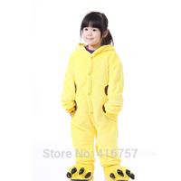 Promation free shipping new 2014 child cartoon cosplay pajamas Cute girl boy's unisex performance costumes