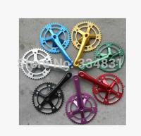Super Light 6061-T6Fixed Gear Bike Chainwheel Cranksets 170*44T Free Shipping+Freeshipping