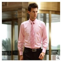 2014 new fashion French cufflinks Men's long-sleeve business wedding formal slim shirt easy care plus size Low price wholesale