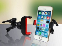 Free shipping Air-conditioning outlet phone support Universal Car Air Vent Mount Cell Phone Holder For iphone5S