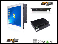 15.0  inch D525  fanless touch screen all in one panel pc   4COM