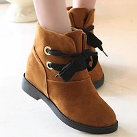 Free shipping new Increased the frosted suede thick with Martin boots winter ankle boots designer shoes women  wedges high boots
