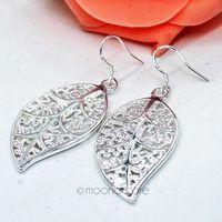 925 Silver Earrings 925 Sterling Silver Fashion jewelry earrings beautiful earrings Small Solid Heart Earrings Y50 MPJ261#M5