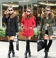 Hot Selling Women Nagymaros collar down coat long paragraph Slim Plus Size free shipping high quality