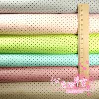 Sweet Coffe Color Dot 50*160cm Twill cotton fabric diy fabric 2pcs/lot LBC01-4