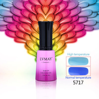 6pcs Free Shipping 12ML Temperature Color Change  LED colors UV gel polish Temperature change