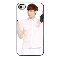Special EXO phone shell SEHUN 4 s mobile phone shell exo 4 s 5 s protective sleeve exo album exo  poster bts