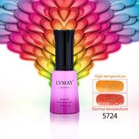 24pcs free shipping  UV Gel Temperature nails gel Change UV Soak Off Thermal Nail 12ml 0.5oz Art Polish