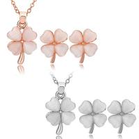 [Arinna Jewelry]New Design Jewelry sets Australia flower Crystal 18k Gold Plated Jewelry Jewelry Sets G0810 Christmas gift