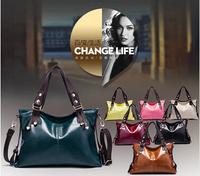 2014 women leather handbag shoulder bag messenger bags pouch women brand new OL handbag high quality S4827