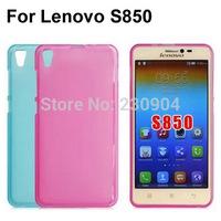 Soft Transparent TPU Phone Case Cover For Lenovo S850 Case