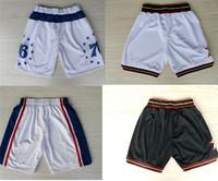Free Shipping Philadelphia Basketball Shorts Men, Allen Iverson Basketball Shorts, Michael Carter Williams Basketball Shorts