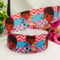 1493146, 22mm Cartoon Series Printed grosgrain ribbon, DIY handmade materials,headwear accessories, wedding gift wrap