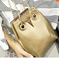 2014 autumn winter  high quality women PU leather handbag owl pattern shoulder bag women messenger bags  S4832