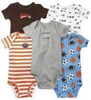 5Pcs/Lot 0M-24M Carters Baby boys girls Bodysuits longsleeve shortsleeve sleeveless jumpsuit Infant Clothing Body Para Bebe