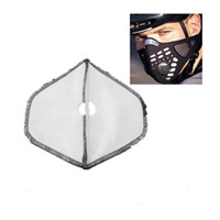 Bicycle Half Face Mask Filter Replacement For Outdoor Racing Motorcycle Anti-Dust filter Cycling Ski Protector
