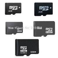 2014 Brand New 2GB 4GB 8GB 16GB 32GB 64GB class4 Micro SD Card TF Memory Card MicroSD SDHC Card With SD Adapter Free Shipping