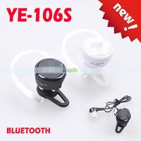 YE-106S Universal Stereo Super Mini Wireless Bluetooth Headset Headphone In-Ear Earphone Handsfree Built in Microphone Headphone
