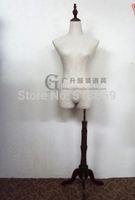 Women Mannequin Hanger mannequins thicker Korean lace linen cotton cloth female bust model planes male models thick linen rack