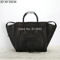 EMS Free shipping Luxury Famous Designer Name Brands Shopping Tote Bag 2014 Fashion High Quality Women Leather Luggage Handbag
