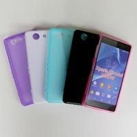 500pcs For SONY Xperia Z3 Compact D5803 Z3mini Candy jelly,S-Line,X-line,pudding matte TPU GEL cover  case