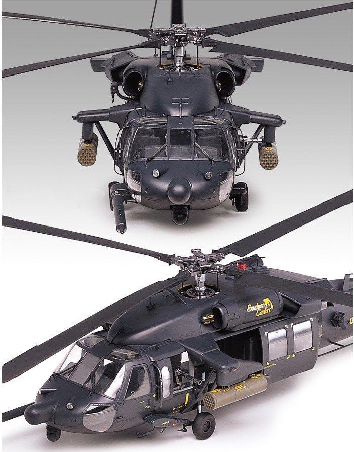 Academy 1/35 12115 AH 60L DAP BLACK HAWK U.S. Army Helicopter ...