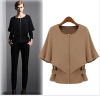 spring 2014 down coat jackets women coat outwear soft shell dress leopard summer jacket baseball ruffled denim jacket coat