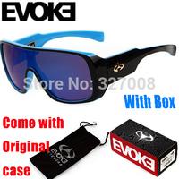 2014 Sport Brand Designer Sunglasses Evoke Cycling Glasses Men Women Motocross Goggles Oculos Ciclismo Gafas With Original Box