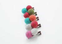 children girl korean candy headwear,baby girl cute hairpins woolen cashmere for 2014 autumn&Winter kids clothes accessories