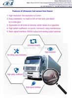 ultrasonic fuel sensor easy installation no drill high accuracy