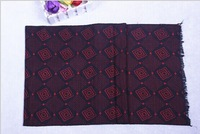 free shipping 2014New Fashion Cotton Men's Scarf/Shawl/Wrap, Warm Stripe Knitting Man business Scarf