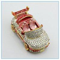 Diamond CAR shape jewelry box  table decoration novelty  best jewelry box SCJ184