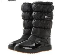 Brand  Warm Plush Snow Boats Winter Boots  Waterproof Women's Shoes Japanned Faux leather Boots Plus Size botas femininas 70H100