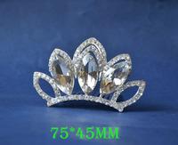 2014 New Fashion Wedding Bridal Crystal Rhinestone Crown Headband Jewelry Tiara Hair Comb Clip G0021