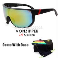 Vonzipper Sport Brand Designer Sunglasses Von Zipper Prescription Safety Cycling Glasses Men Goggles Oculos Ciclismo With Box