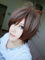 High Quality Beautiful Fashion Style Japanese Wig  MSN Short Wig Cosplay Wig