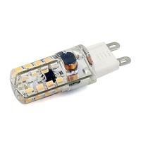 Ultra Bright 4W Led Lamp G9 64 LEDs 3014 SMD 110V-240V 110V 220V White/Warm White Crystal Cover