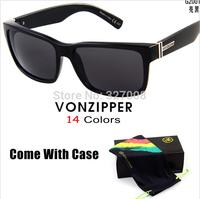 Von Zipper Sunglasses 2014 Fashion Sporting Brand Vonzipper With Box Cycling Glasses Men Bycicle Goggles Lenses Ciclismo Gafas