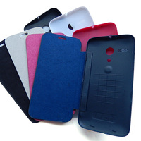 Case for Motorola Moto G Flip Leather Battery back Housing