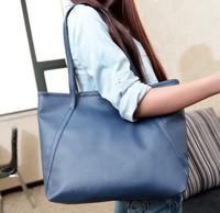Free shipping new 2014 European and American big women bags fashion totes casual women shoulder bags ladies handbags