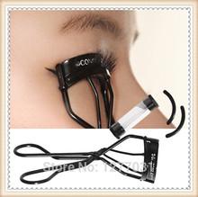 Korean 3CE Waterproof Eyelash Curler Black  Stainless Stage Makeup Styling Tools Beauty Cosmetic Eyelash Curling Warped Kits(China (Mainland))